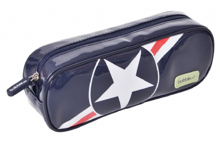 Barrel Pencil Case - Star & Stripes